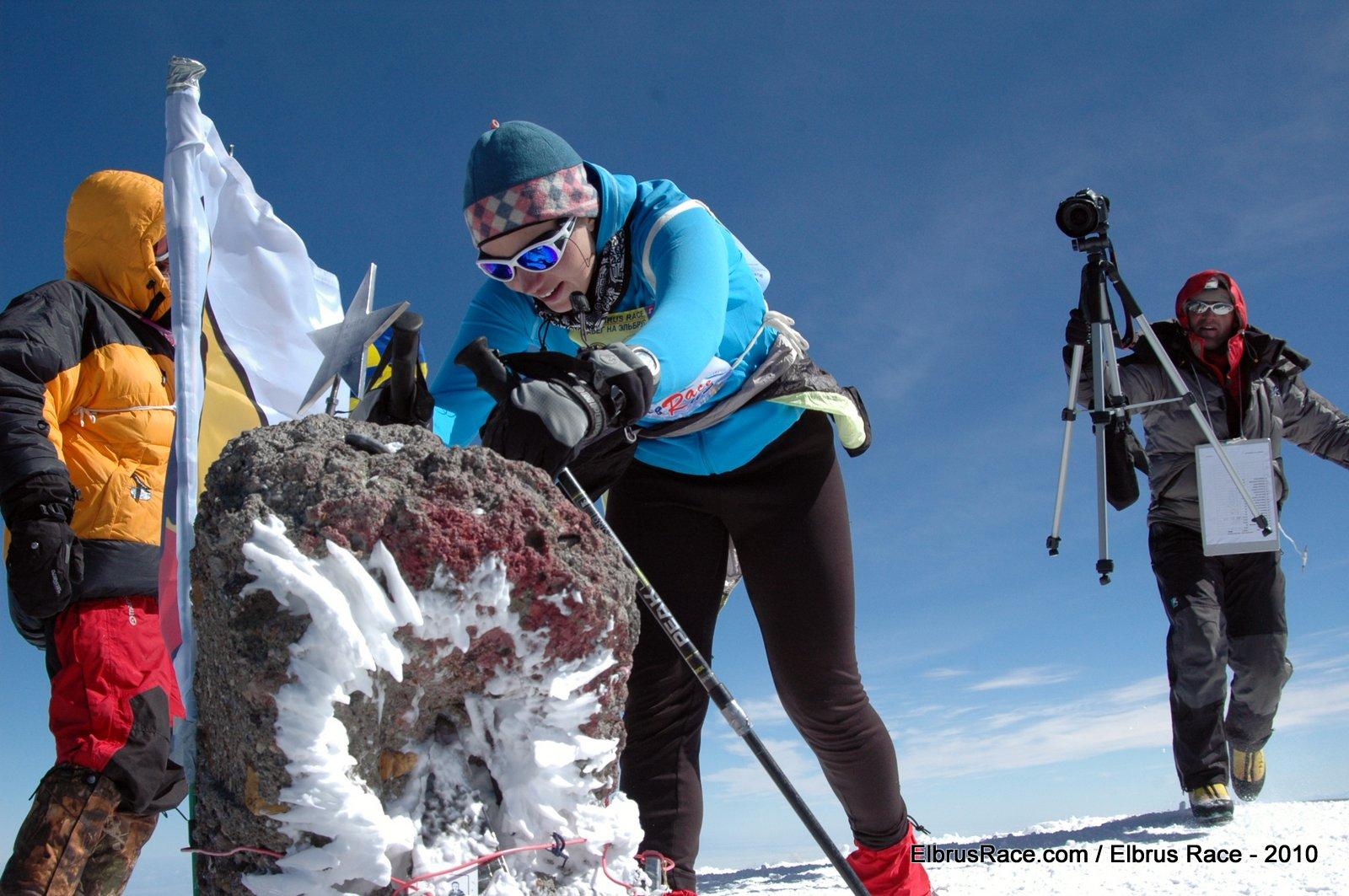 elbrus-race-2010 Маша Хитрикова