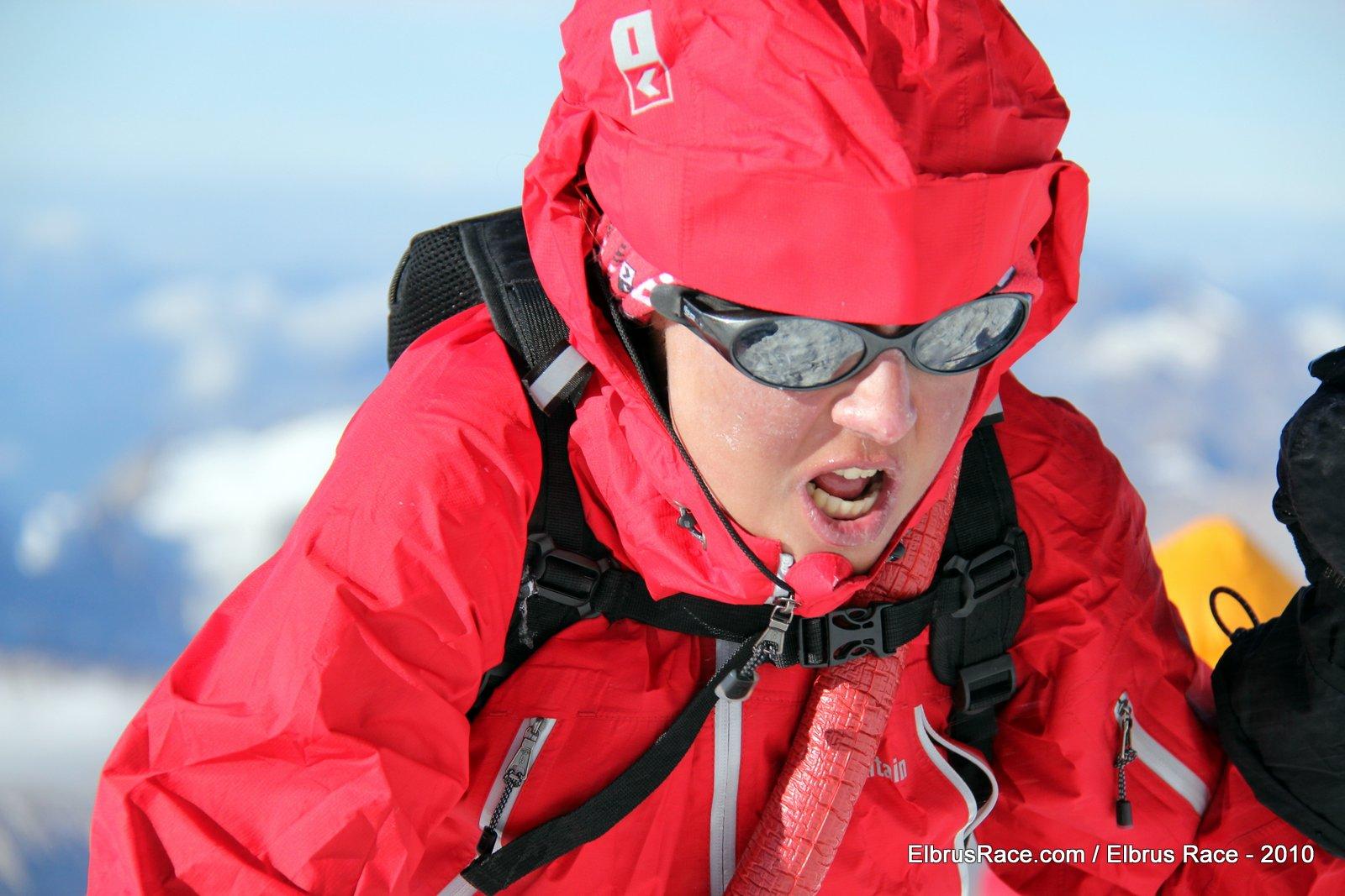 elbrus race 2010 - Ola - Aleksandra Dzik
