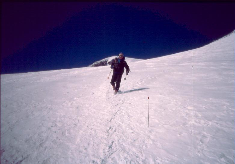 elbrus race 1990 boukreev after finish